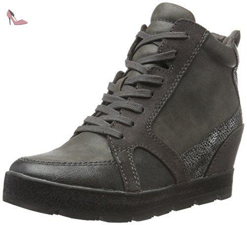 23619, Sneakers Basses Femme, Noir (Black 001), 38 EUTamaris