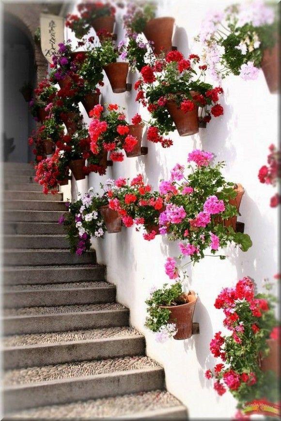 cmo decorar jardines y terrazas con mucho color decorar y ms - Decoracion De Jardines Y Terrazas