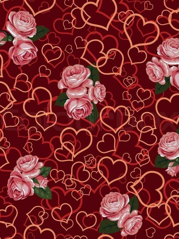 Red Rose Heart Wallpaper Naℓyeitiiye ѕ In 2018
