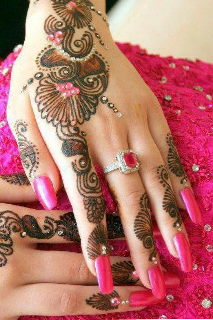 Nail Designs Henna And Mehndi Ideas For Girls Mehndi Henna