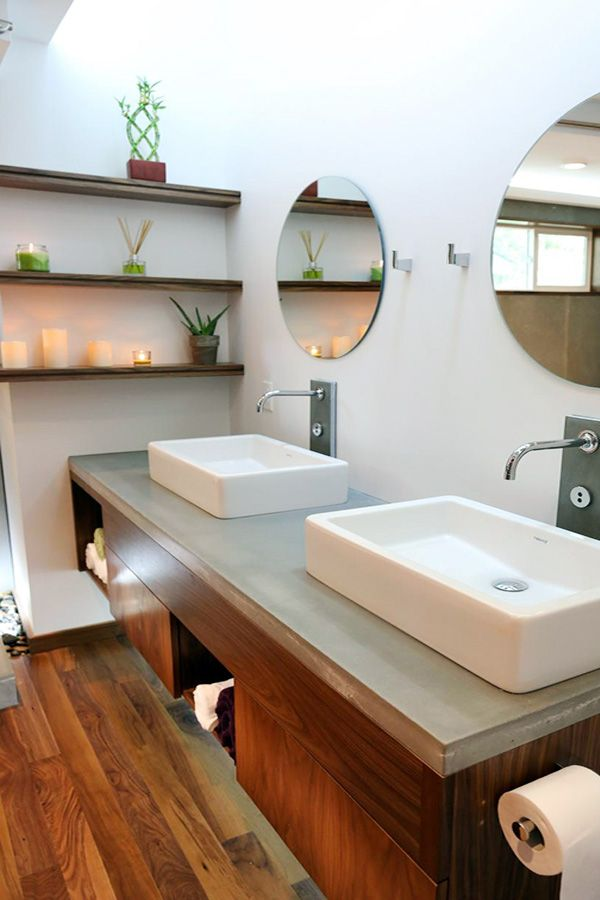 stylish bathroom sink design ideas | Bathroom Decor | Pinterest