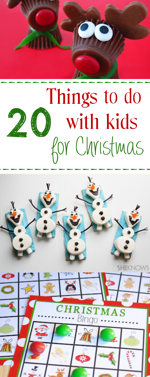 Christmas Things To Do.25 Fun Christmas Activities For Kids Best Of Pinterest