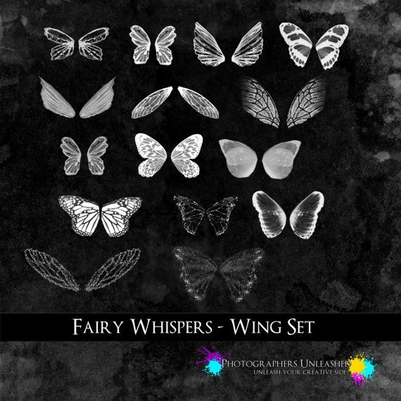 https://www.etsy.com/listing/161648670/fairy-whispers-wing-set                     Amazing Fairy Wing Templates for Photoshop and Photoshop Elements