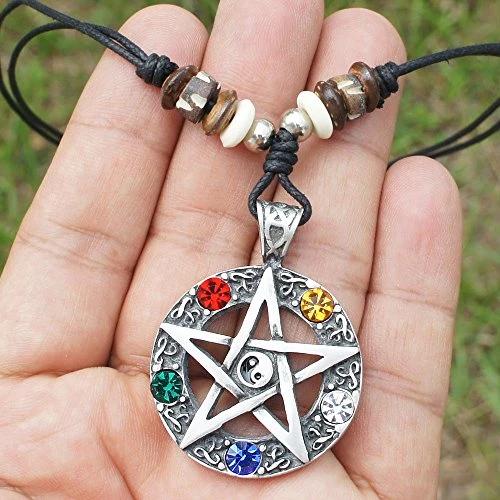 yin yang feng shui wu xing star five element crystal