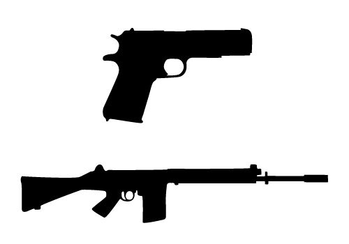 Pin On Busy Background Popular gun silhouette of good quality and at affordable prices you can buy on aliexpress. pin on busy background