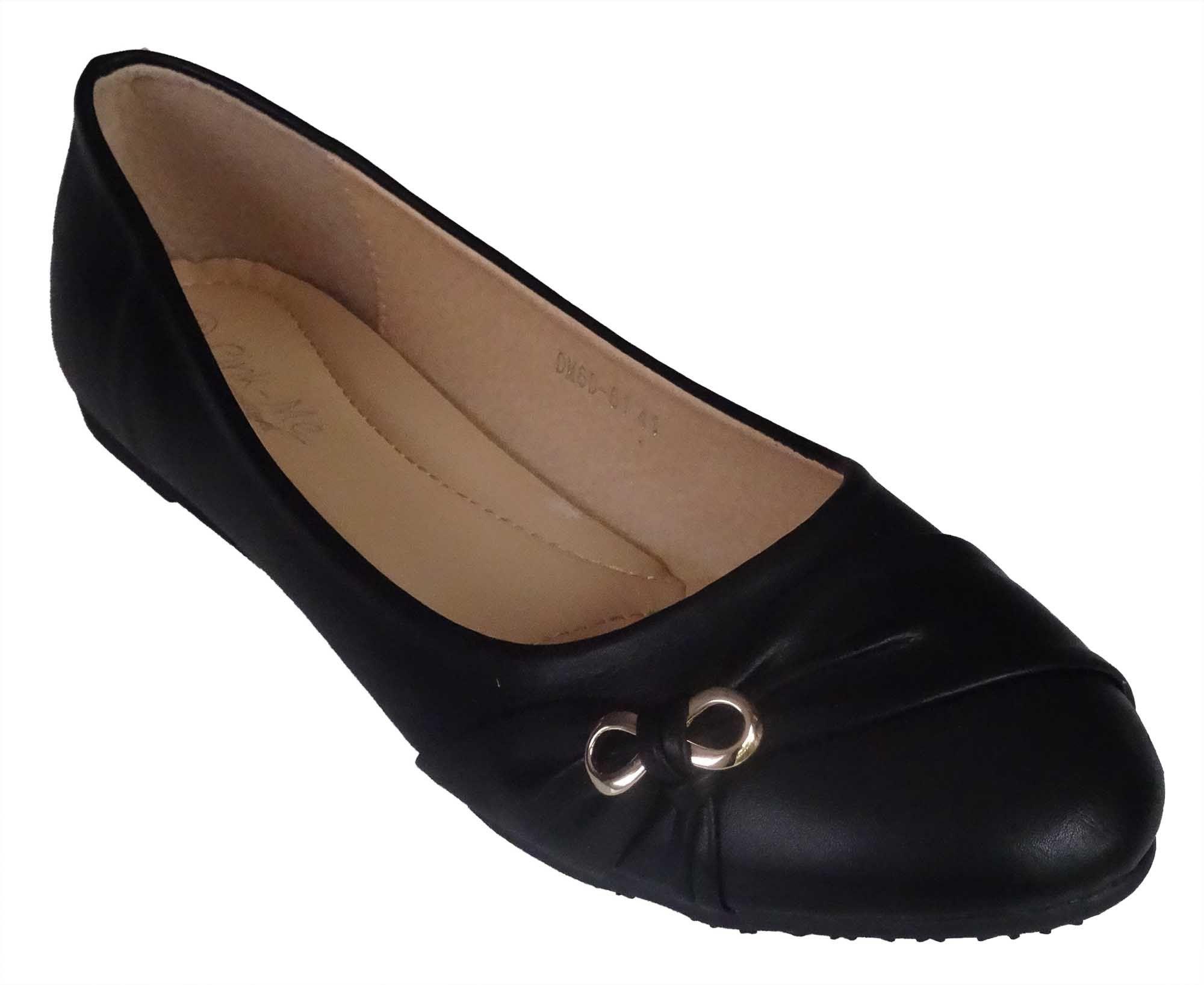 Ballerines Ze Beauty couleur Noire, Taille 41 42 43 44