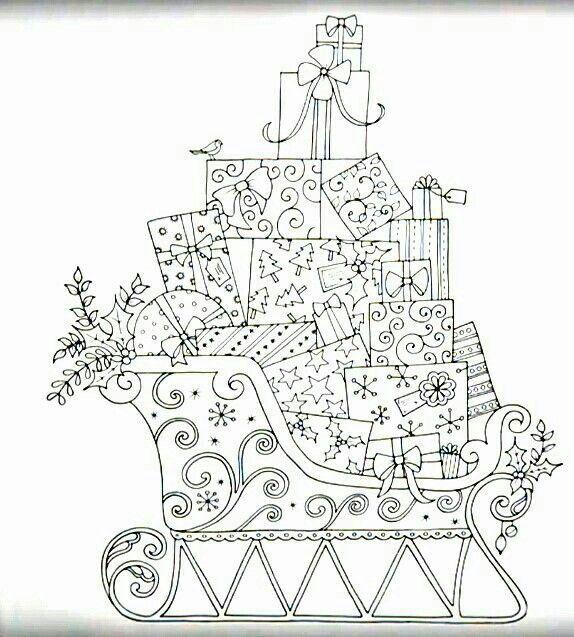 Pin de Lynn Finlen en Coloring Pages | Pinterest | Colorear, Navidad ...