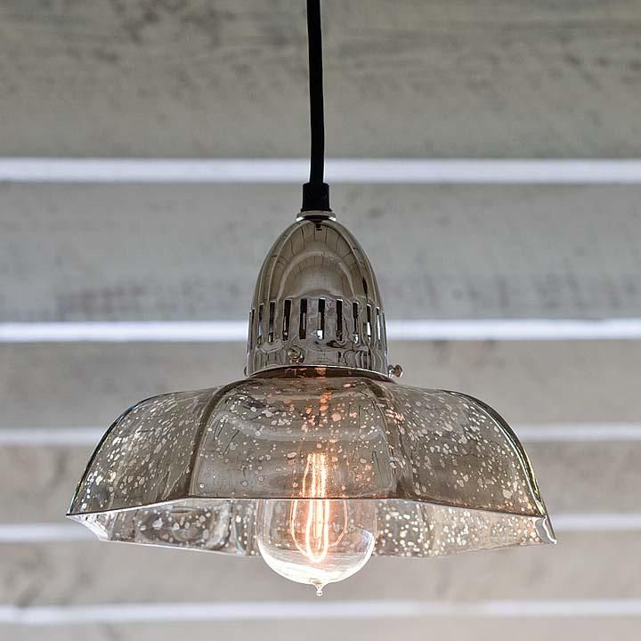 mercury glass lighting fixtures. antique mercury candy dish pendant from regina andrew glass lighting fixtures r