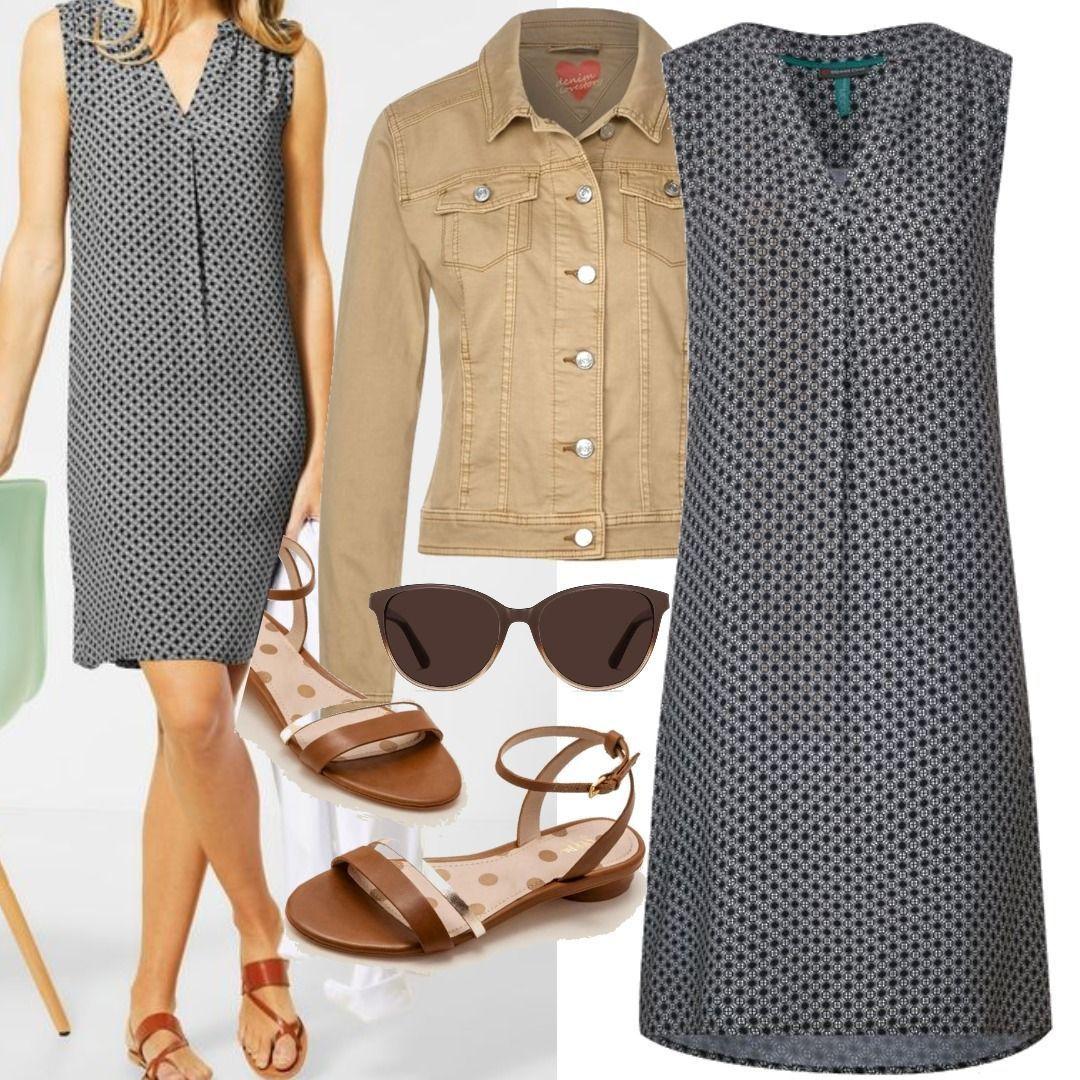 Sommerkleid lässig Outfit für Damen zum Nachshoppen auf Stylaholic