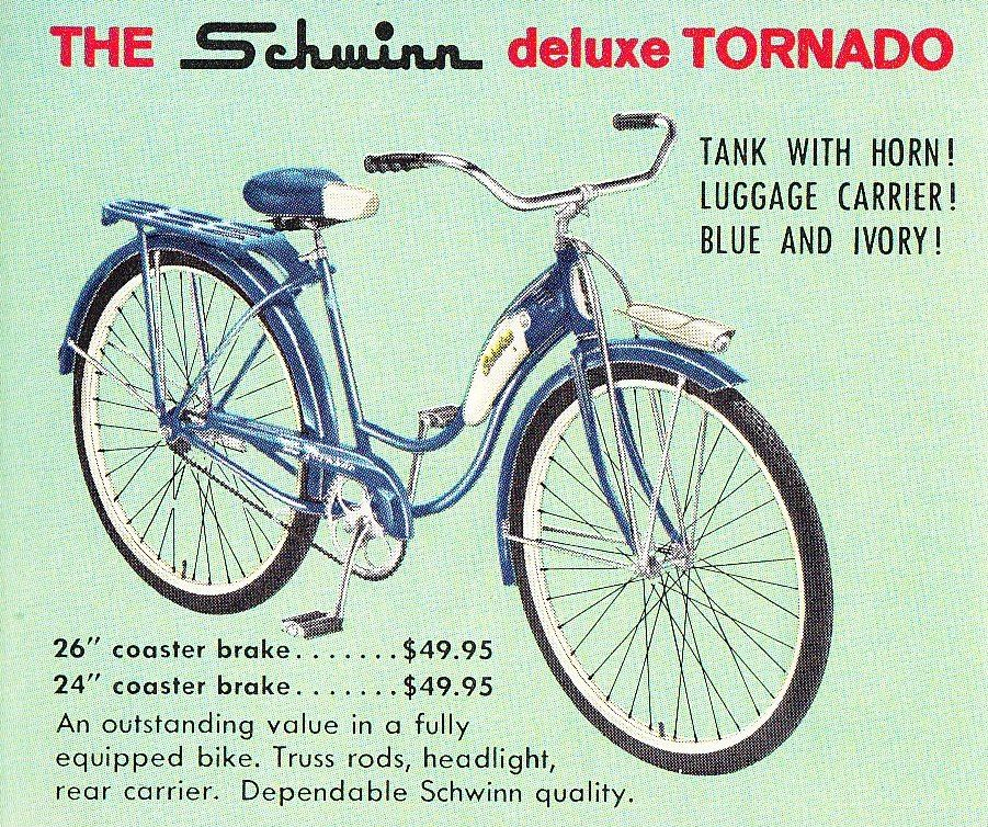 I Had A Schwinn Bicycle Just Like This In Pink Rode That Balloon Tire Bike Long Distances In The Old Days Kids Could Do Th Schwinn Bicycle Schwinn Bicycles