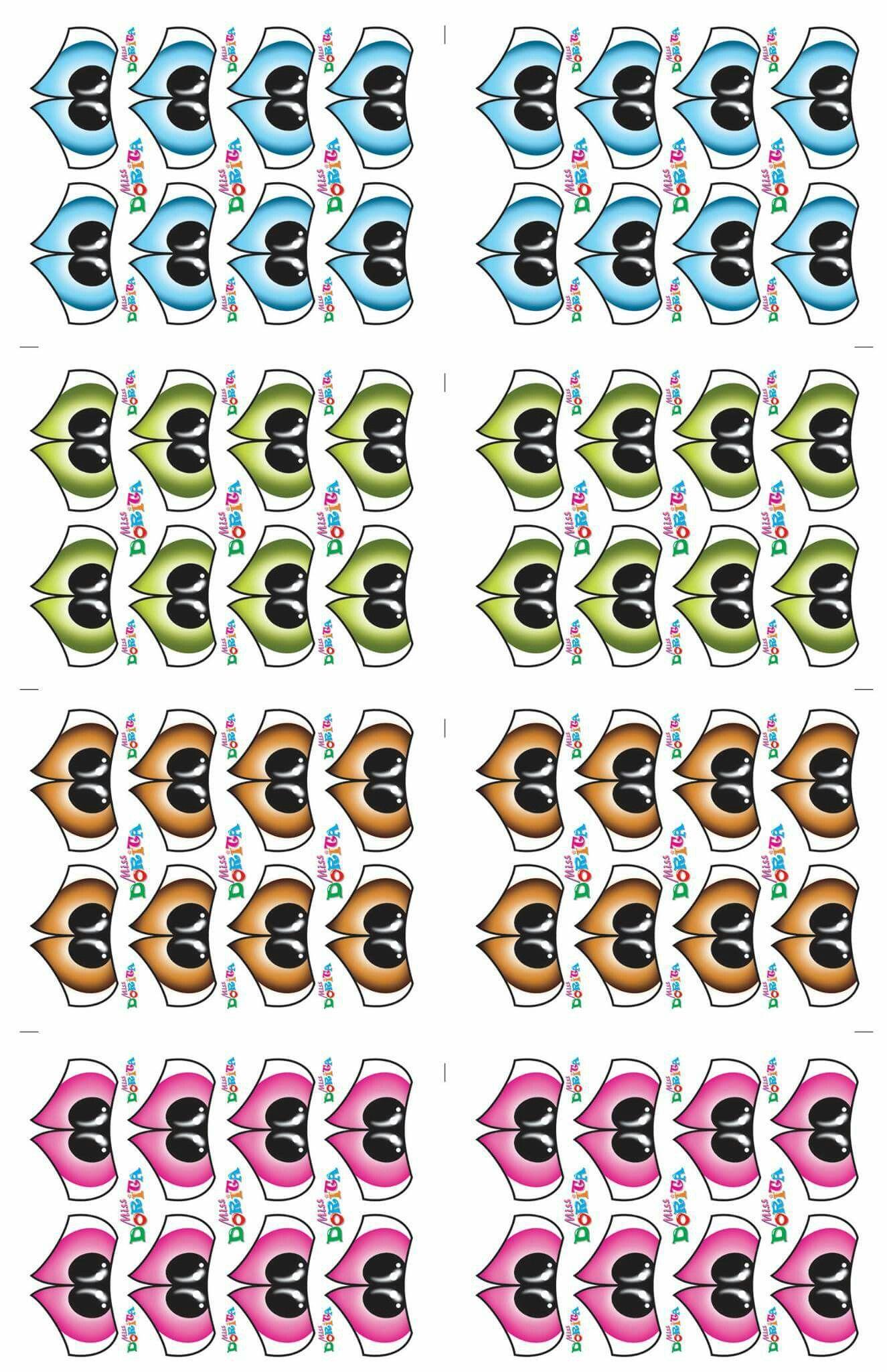 Adesivo Para Geladeira Kombi ~ Pin de Eccoarts em olhos e bocas Pinterest Olho, Adesivo e Imprimir