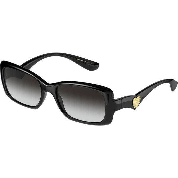 Dolce & Gabbana DG6152 501 / 8G, Plastic, Black, Sunglasses …