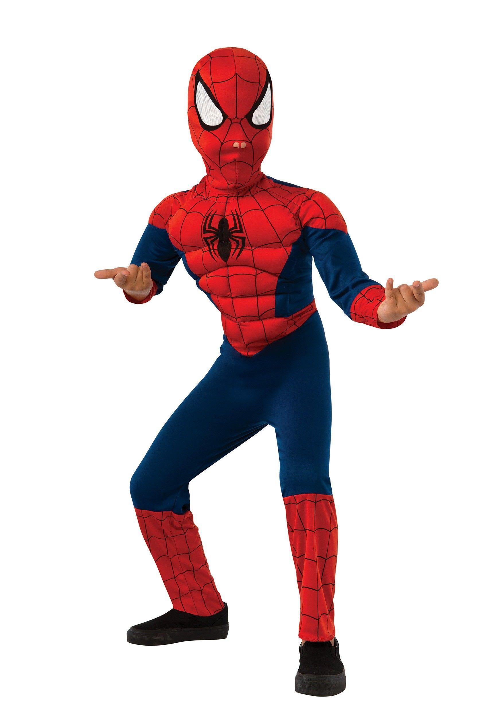 466b9def061 Disfraz infantil de spiderman musculoso para niño