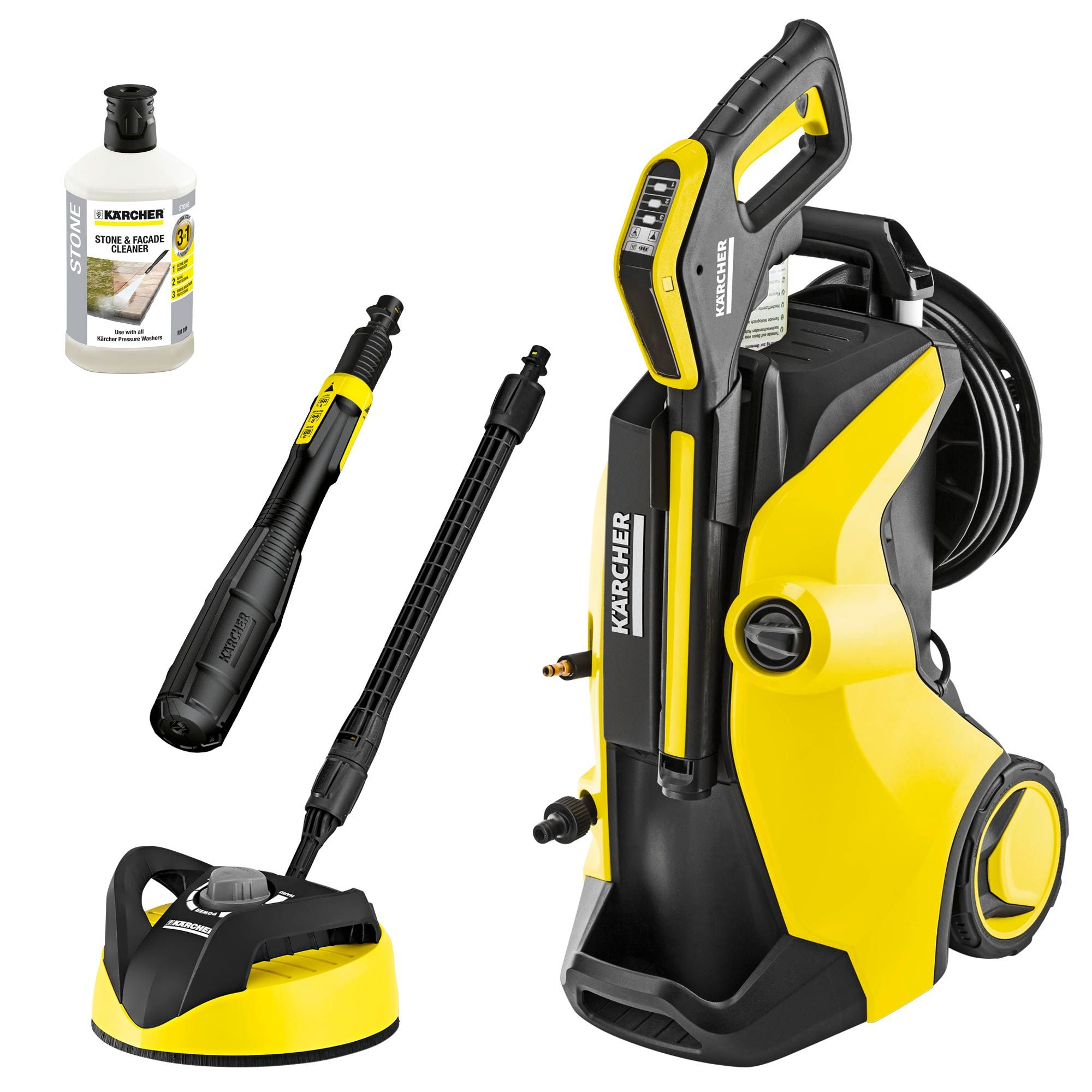 The Karcher K 5 Premium Full Control Plus Home Includes Our Latest Cleaning Innovation A Single Multi Jet Lance That Enables Pressure Washer Pressure Dj Gear