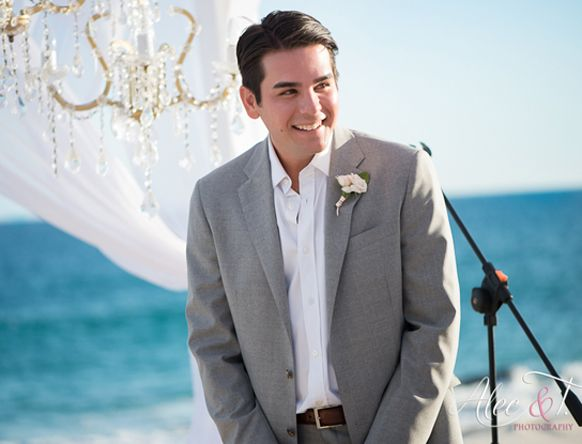 stylish destination wedding grooms attire grey suit 2__alec and t photography