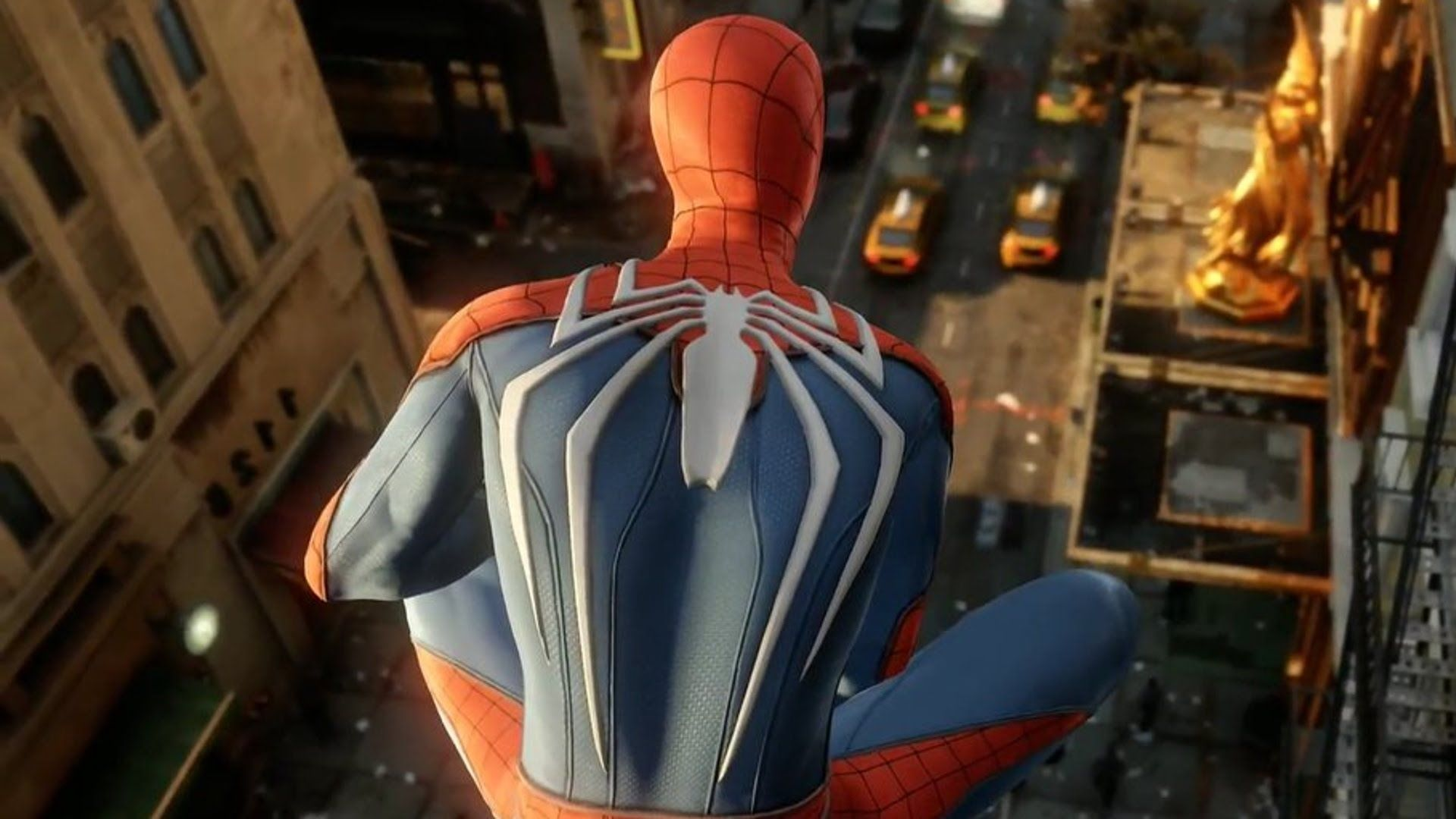 Spider Man Ps4 New Teaser Gameplay Playstation Pro 4k