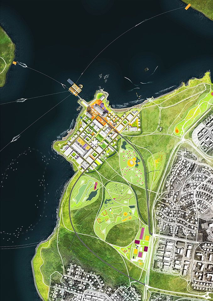 Team Felixx U2013 Jvantspijker Wins Design Competition In Gufunes, Reykjavik U2013  World Landscape Architecture