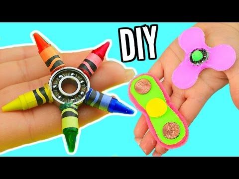 224ae7940 10 DIY Fidget Spinner Hacks You Should Know! How To Make A Fidget Spinner!  - YouTube