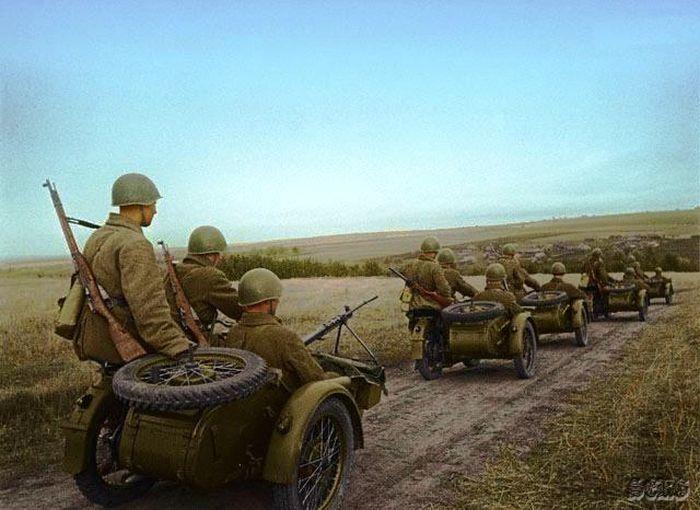 Velikaya Otechestvennaya Vojna V Cvete 70 Foto Vojna Soldaty Armiya