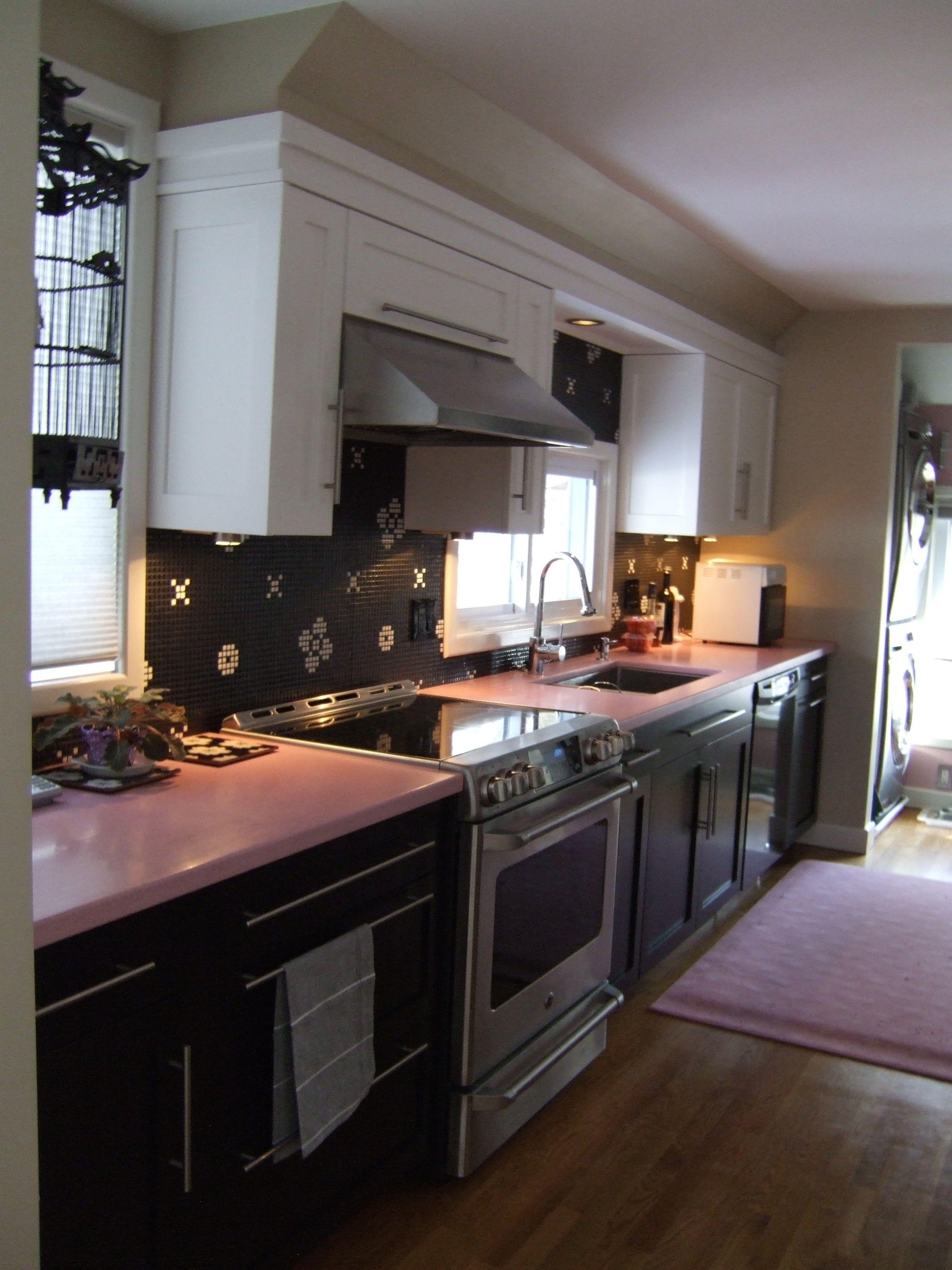 pink durat kitchen pink kitchen kitchen countertops on kitchen decor pink id=59521