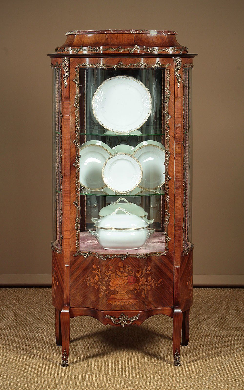 early 20th c french vitrine or display cabinet c 1920 antiques rh pinterest com