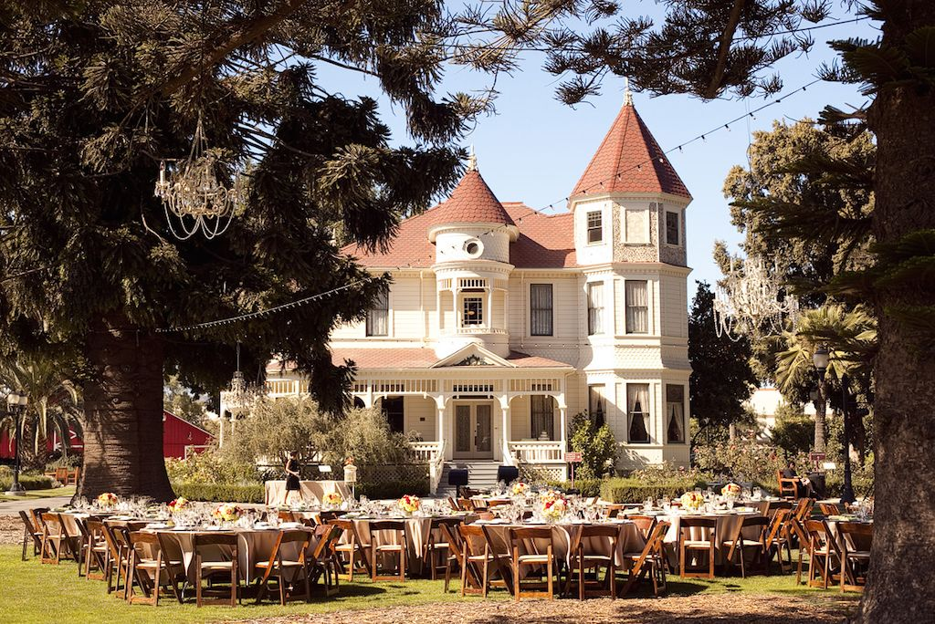 Camarillo ranch house venue wedding events catering