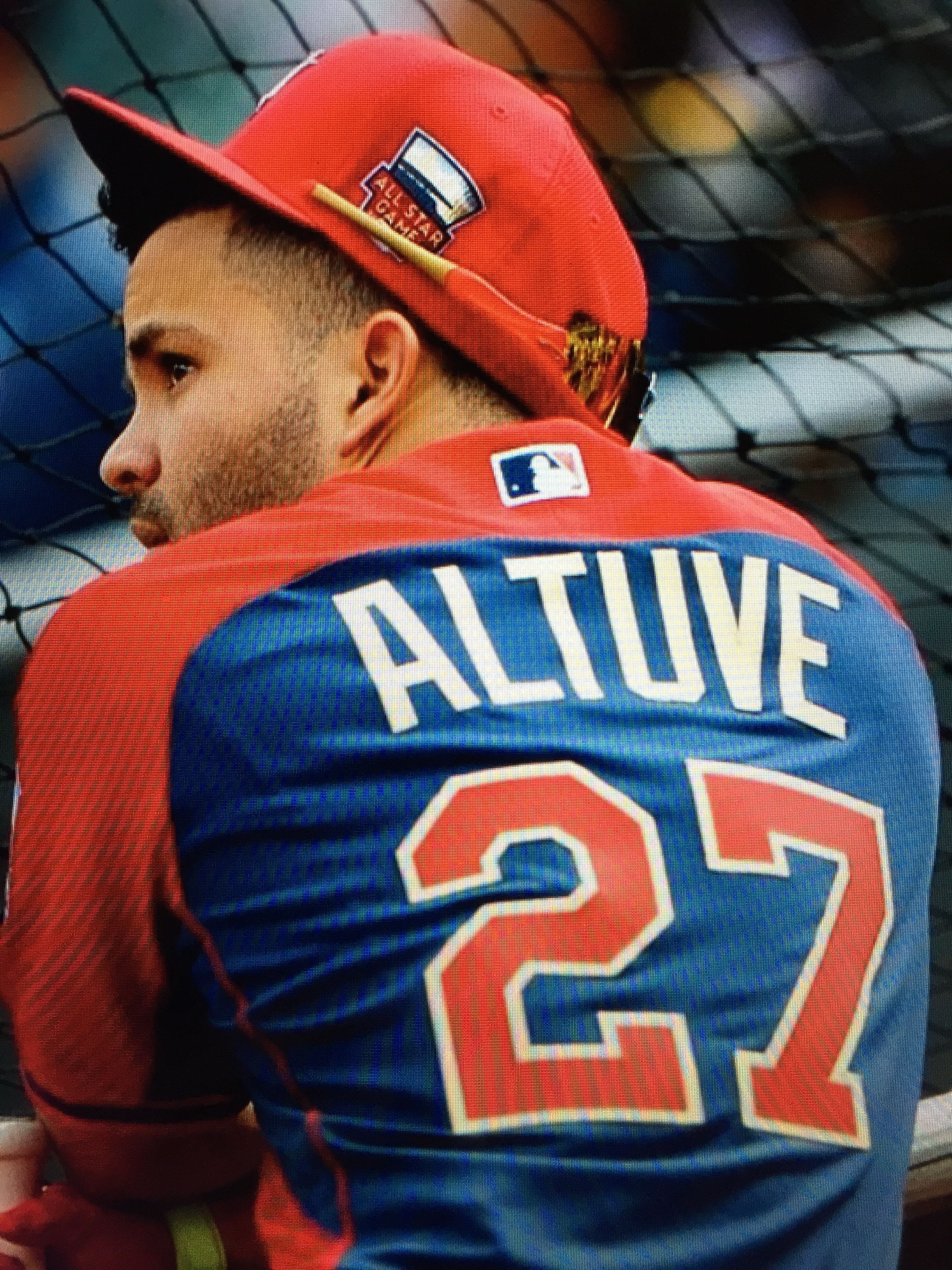 first rate 51814 2b40d Jose Altuve of the Houston Astros at the 2014 MLB All-Star ...