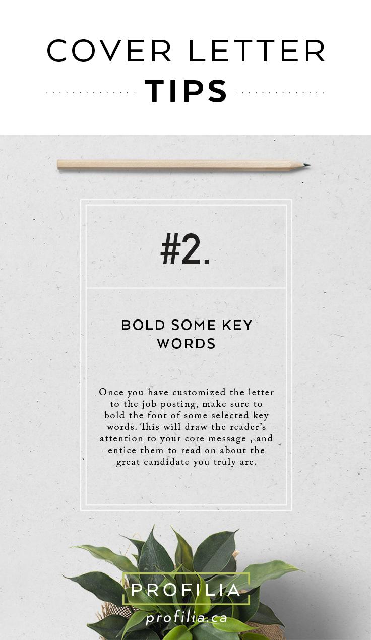 cover letter tips for job hunting  profilia ca
