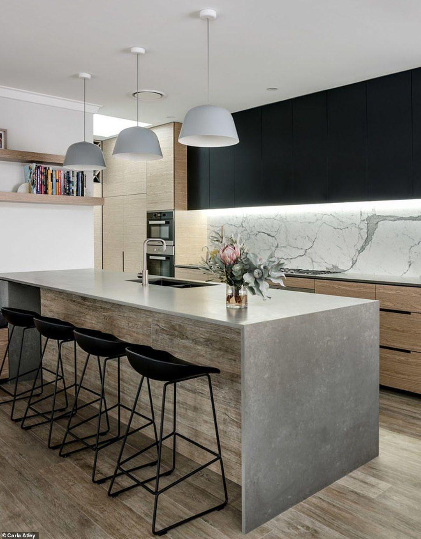 40 Gorgeous Modern Kitchen Design Ideas Minimalist Kitchen