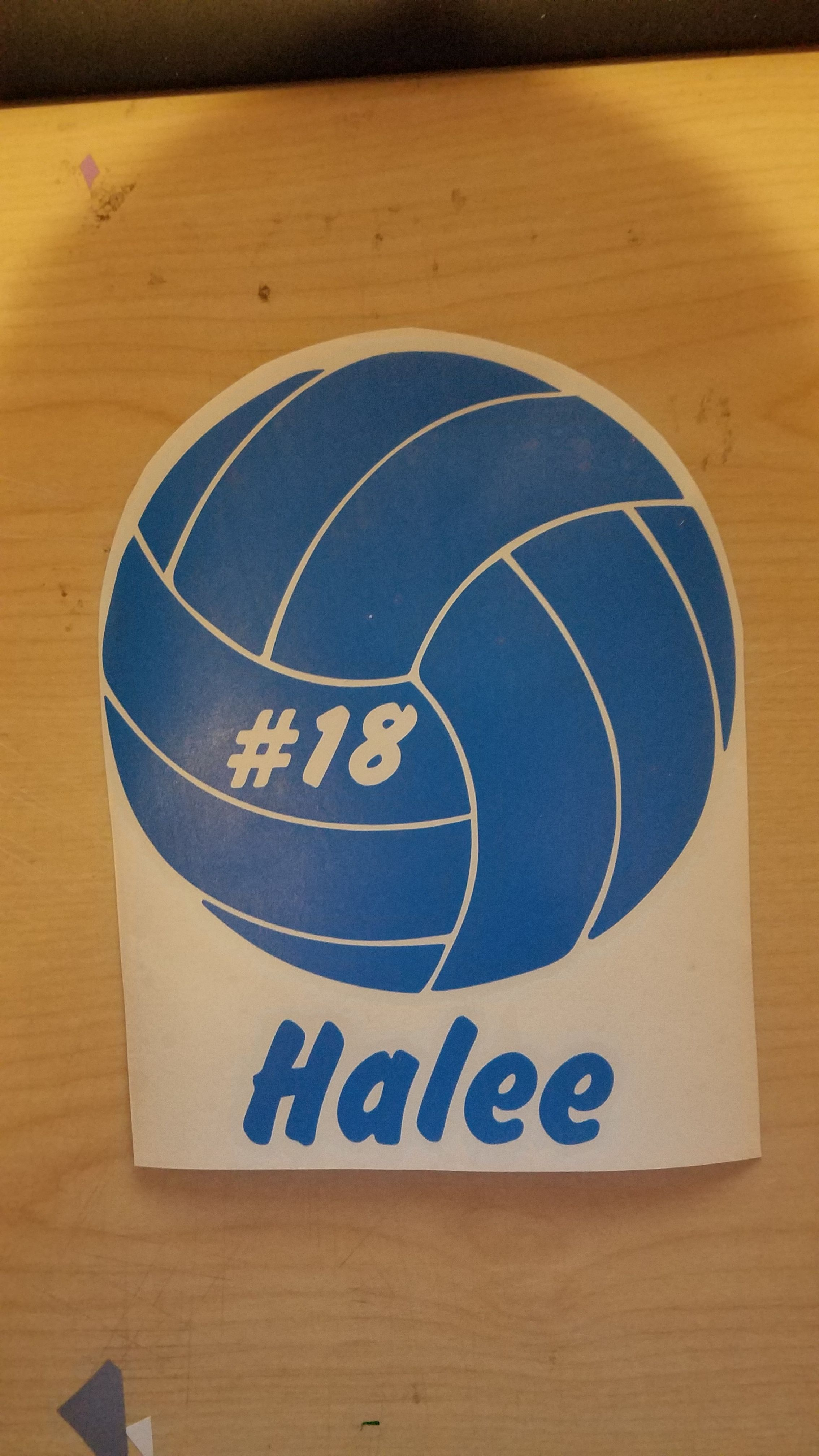 Volleyball Player Car Decal Support Your Kid Etsy Volleyball Players Volleyball Car Decals