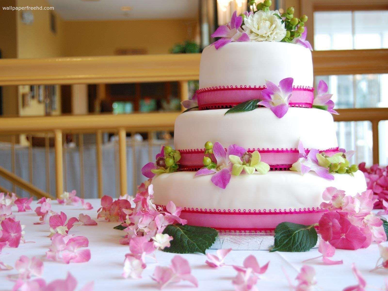 Pink Wedding Cakes 1080p Hd Pictures Wedding Cakes Birthday Cake