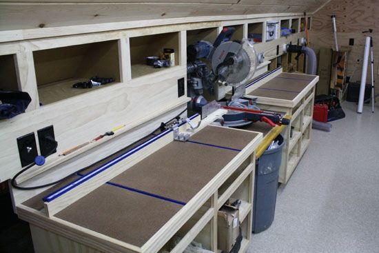 Kreg Precision Trak And Stop System For Miter Saw Bench