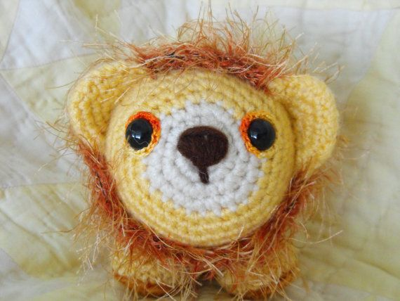 Little Amigurumi Lion : Lion little amigurumi lion crocheted lion toy the cute
