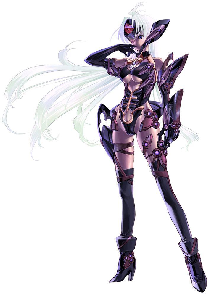 Xenosaga Character Design : T elos from xenosaga episode iii female video game