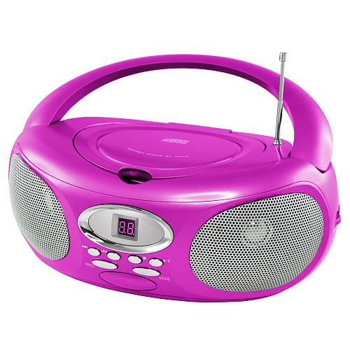 "Riptunes CD Boombox Player - Pink - Riptunes - Toys ""R"" Us - Brooklynn"