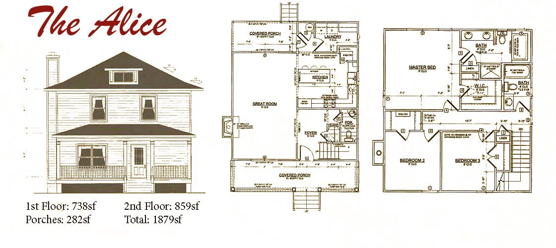 Square House Plans four square i floor plan 4 Square Home Plans 4 Free Printable Images House Plans Home