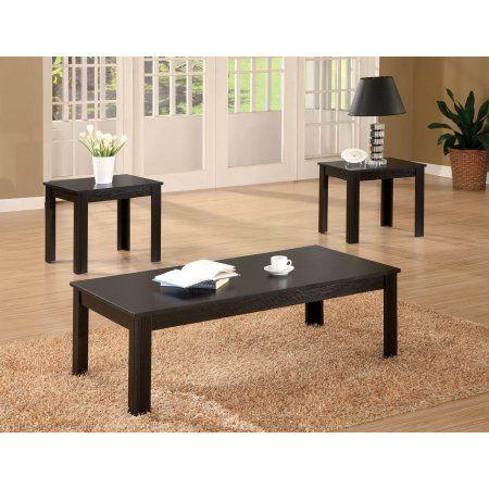 Coaster Furniture 3 Piece Coffee Table Set