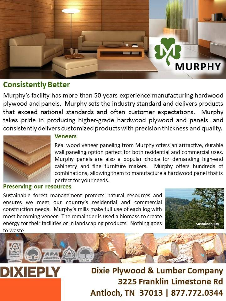 Murphy Plywood Dixieply Nashville Hardwood Plywood Outdoor Furniture Sets Outdoor Decor