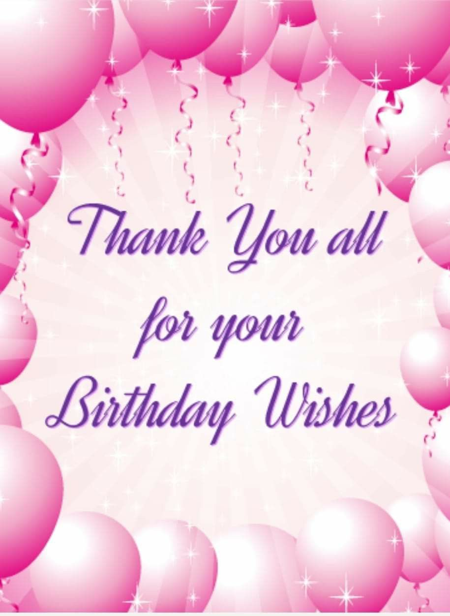 Pin by Teresa Yarbrough on Celebration  Thanks for birthday