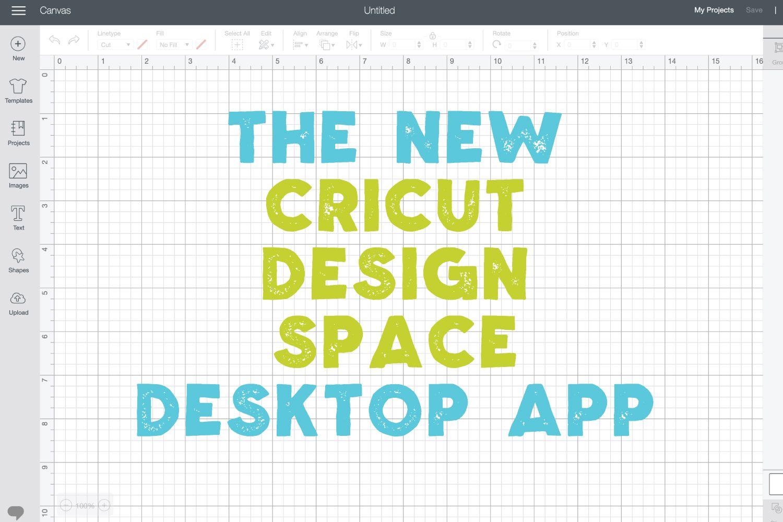 The Cricut Design Space Desktop App + Working Offline