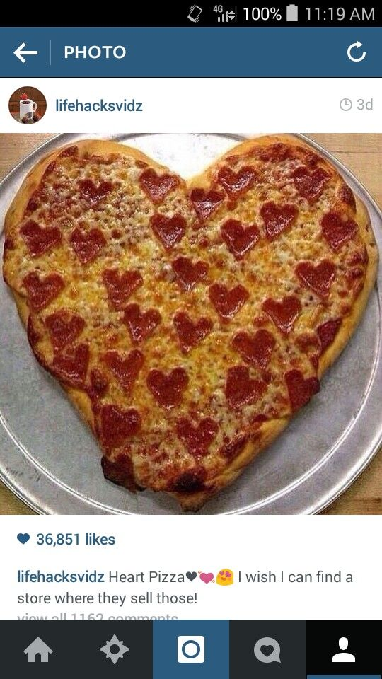 heart shaped pizza delivery valentines day