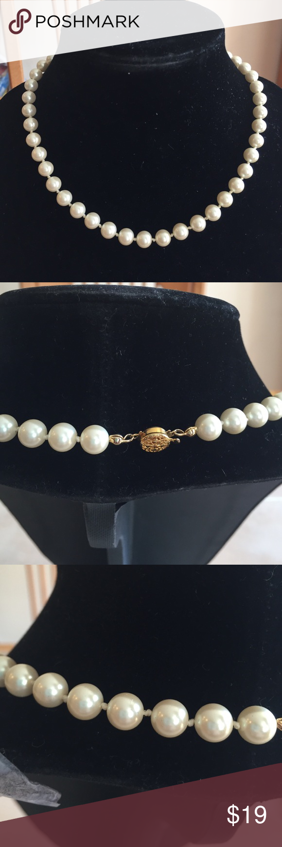 Pearl Necklace 18 Inch