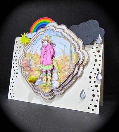 Card Gallery - rainy day