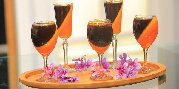 Cbc Sofra طريقة تحضير أكواب موس البرتقال والشيكولاتة غادة التلي Recipe Champagne Flute Alcoholic Drinks Glass