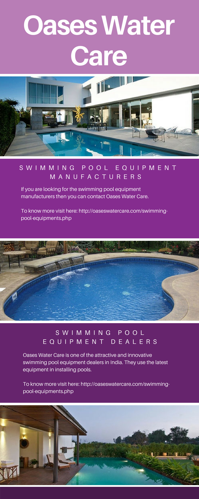 Oases Water Care Is One Of The Prominent Trust Able And Effective Swimming Pool Equipment Manufacturers Swimming Pool Equipment Swimming Pools Pool Equipment