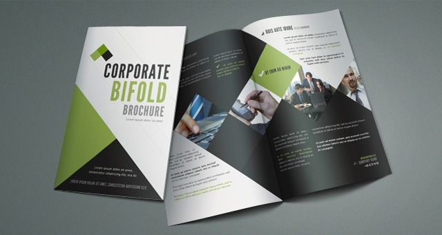 Take A Look At Professional Free Corporate Brochure Design