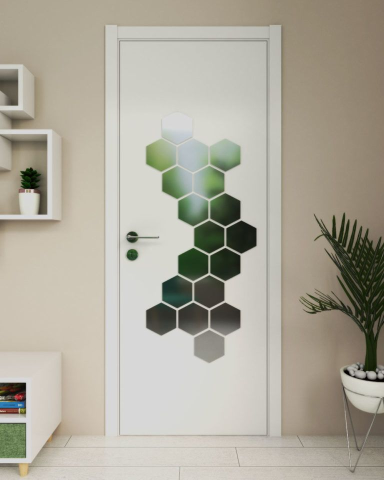 Cool 48 Awesome Bedroom Door Decoration Ideas Bedroom Door Decorations Painted Closet Painted Doors