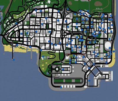 Mapas De Gta San Andreas San Andreas Grand Theft Auto San