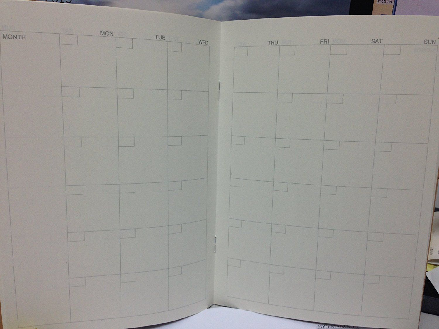 Office Products Memo & Scratch Pads ghdonat.com For Monthly 32 ...