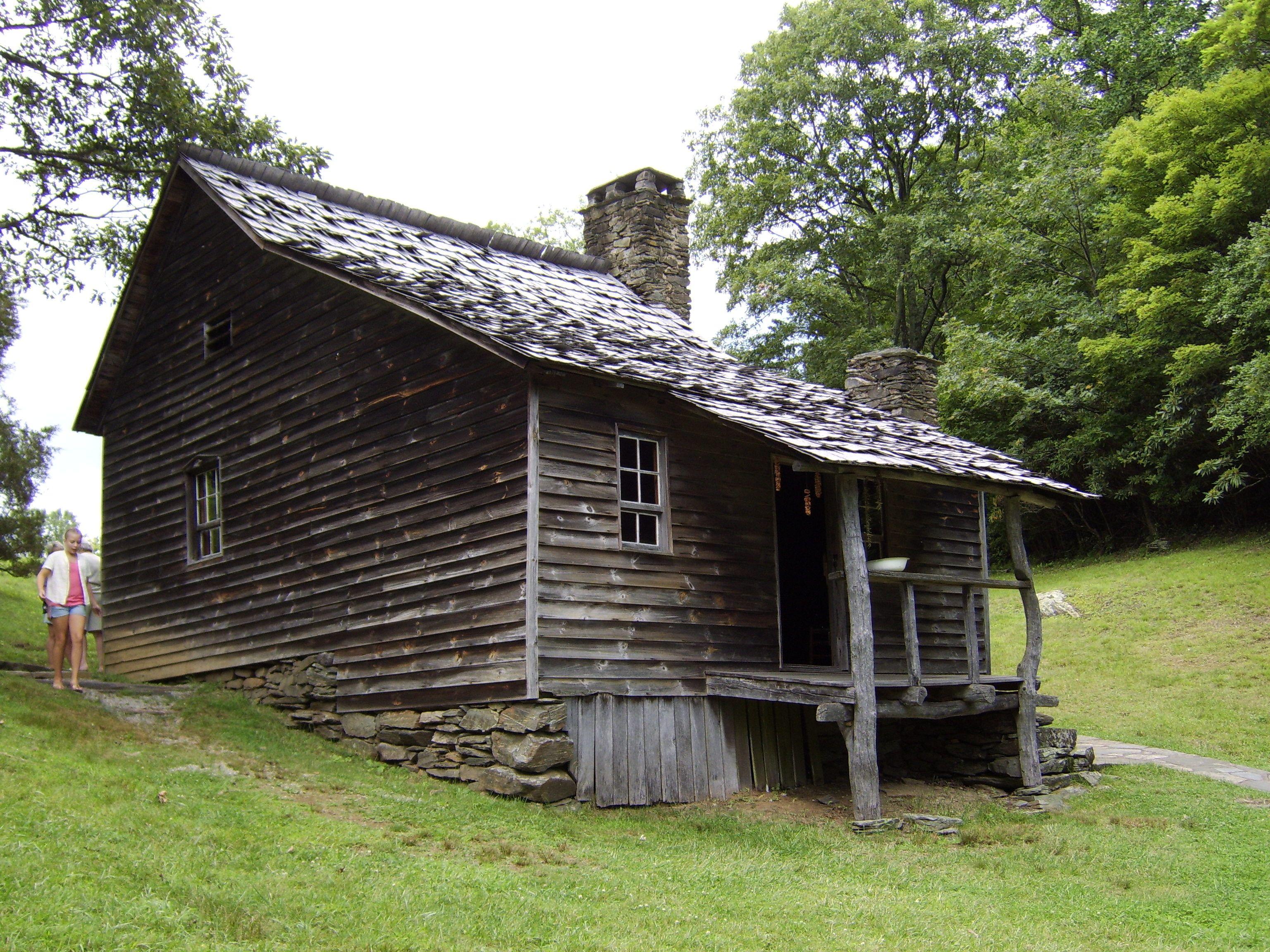 Brinegar Cabin In Alleghany County North Carolina